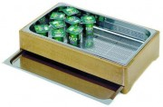 Buffet froid pour yaourts - Bac inox GN 1/1 H 6,5 cm