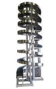 Convoyeur spirale à bande - Charges lourdes jusqu'à 45 kg / m