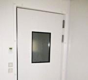 Porte isolée en aluminium - Conductivité thermique 0,029wm°c