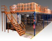 Plate-forme de stockage modulaire