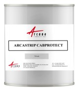 Protection de Cabine de Peinture - Pelable Blanc Opaque - ARCASTRIP CABPROTECT : Revêtement temporaire pelable