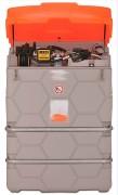 Cuve GNR 1500 L avec enrouleur - Débit : 56 l.min - Enrouleur automatique - Bandage de renfort acier