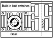 Motoréducteur encombrement modulaire