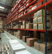 Rayonnage semi-lourd flexible - Profondeurs standard : jusqu'à 1200 mm