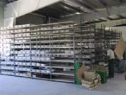 Rayonnage métallique fixe industrie