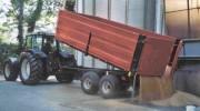 Remorque agricole à ridelles démontables - Ridelles démontables  -  Charge Utile : 10 000 Kg