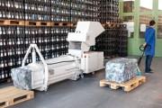 Écraseur presse à déchet PET - Puissance de propulsion : 2,2 / 4 kW
