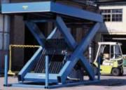Table élévatrice pour quai 10 T