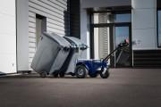 Tireur - pousseur bac poubelle - Tracteur bac 2 et 4 roues