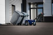 Tracteur bac poubelle - Tracteur pousseur 3T