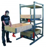 Tiroir pour charge lourde 1000 kg - Capacité maximale : 1000 kg / Tiroir