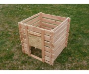 Composteur en bois 700 Litres - Capacité : 700 Litres
