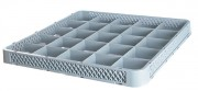 Rehausse à compartiments pour casier à vaisselle - Dimensions (L x l x h) : 500 x 500 x 40 mm