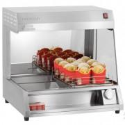 Poste de salage frites résistance à quartz - Dimensions bac à frites : L 615 x P 315 x H 130 mm