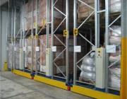 Rack de stockage palettes mobile  - Stockage palettes mobile