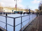 Location patinoire synthétique - Epaisseur : 20 mm