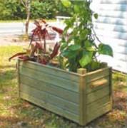 Bac à fleurs pour collectivités - En bois - 4 dimensions disponibles