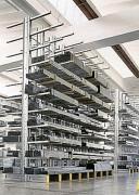 Rayonnage cantilever charge longues - Capacité par colonne :  2200 kg