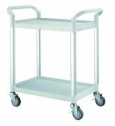 Chariot à plateaux plastiques - Charge : 250 kg
