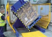 Retourneur basculeur hydraulique - Fonctionnement simple en mode automatique ou manuel