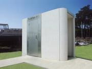 Toilette public rectangulaire avec urinoir - Modèles Extérieurs PMR L3000