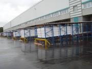 Rayonnage industriel de palettes