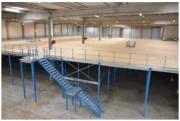 Mezzanine de stockage modulable - Structure autoporteuse évolutive
