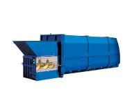 Compacteur à déchets poste fixe - Poids : 2,5 tonnes