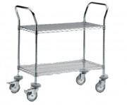 Chariot aluminium à clayette