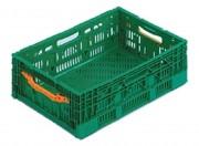 Bac plastique alimentaire pliable