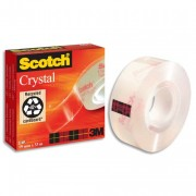 3M Ruban crystal clear 600 en 19mmx66m - Scotch