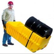 Chariot de rétention mobile pour fûts