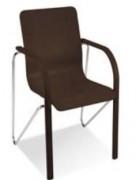 Chaise acier empilable pour salle d'attente
