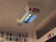 Purificateur d'air transport sanitaire - Purificateur d'air mural pour véhicule moyen volume type ambulance classe A - Capacité : 150 m3/heure