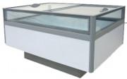 Bac réfrigéré bi-température avec couvercles