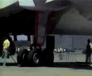 Rouleur pneumatique pour avion - Robuste et compact