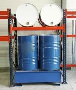 Rayonnage pour fût - Charge admissible par niveau : 2000 kg