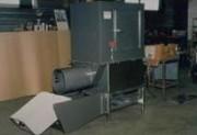 Compacteur pour traitement de déchets avec gaine vide ordures - Réduction du volume des déchets par 3 en moyenne