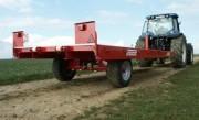Remorque agricole à tracter - Remorque de manutention