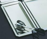 Plat vitrine pans coupé 42x27x3 cm