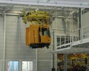 Monorail manutention pour palettes