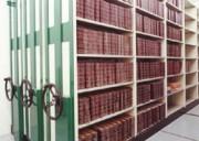 Rayonnage bibliothèque à volant - Charge minimum 800 kg/m2
