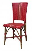 Chaise de terrasse en rotin Hauteur 92 cm