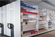 Rayonnage mobile archives - Profondeur  de 250 mm à 800 mm