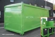 Compacteur monobloc alimentation 220V - Compacteur Monobloc  220V Capacité : 24 m³