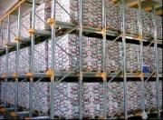 Stockage dynamique pour palettes en rotation
