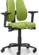 Siège ergonomique assise arthrodèse Duo Back - Forme anatomique du dossier du siège/séparation verticale