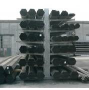 Stockage en extérieur galvanisé à chaud -  Rayonnage cantilever pour stockage extérieur