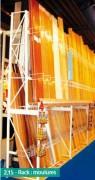 Rayonnage semi lourd moulures - Profondeur : de 600 à 800 mm
