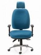 Siège ergonomique à dossier haut pré galbé E3.3 - Assise en mousse à mémoire de forme